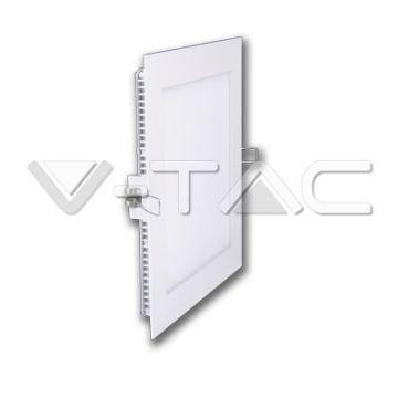 Premium Panel Downlight Carré 6W 6000K VT-607