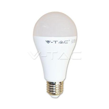 VT-2015 LED Bulb - 15W A65 ?27 Thermoplastic 4500K