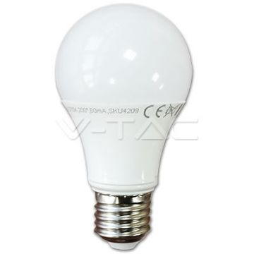 Ampoule LED 10W E27 A60 Thermoplastic 6000K VT-1853