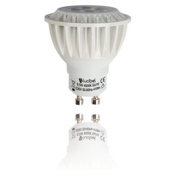 Ampoule led GU10 4W 4000K LUCIBEL LPGU104NW45E