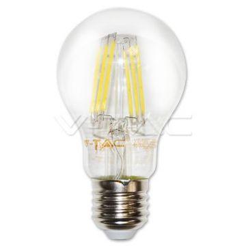 Ampoule LED 6W Filament E27 A60 4500K VT-1887