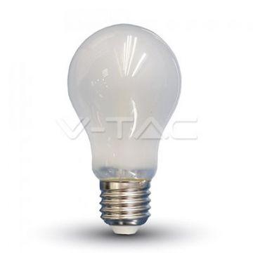 Ampoule LED 6W Filament E27 A60 Opaque 4000K VT-1935