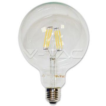 Ampoule LED 6W Filament E27 G125 3000K VT-1993