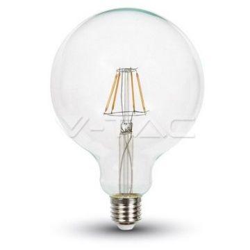 Ampoule LED 10W Filament E27 G125 6000K VT-1979