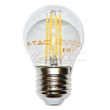 Ampoule LED 4W Filament E27 G45 3000K VT-1980