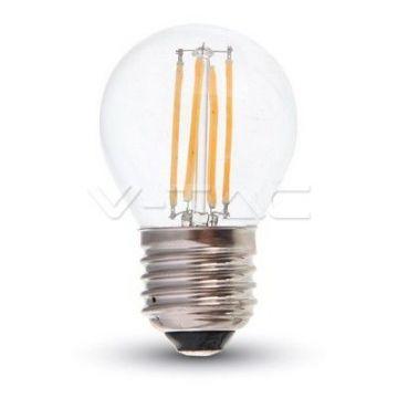 Ampoule LED 4W Filament E27 G45 4500K VT-1980