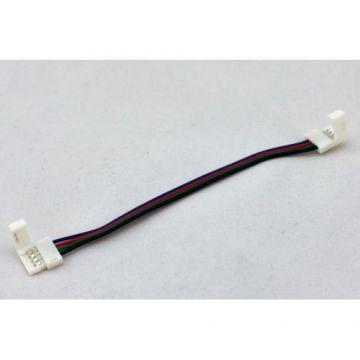 cable connecteur double RGB pour ruban