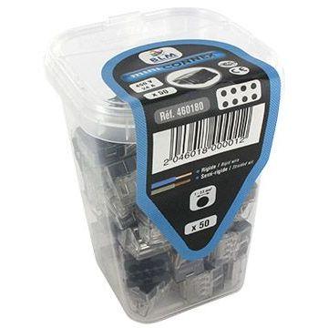Bte connecteur Mini de8 - boite de 50