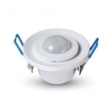 VT-8030PIR Ceiling Sensor With Moving Head White -