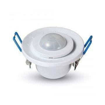 VT-8030PIR Ceiling Sensor With Moving Head White -
