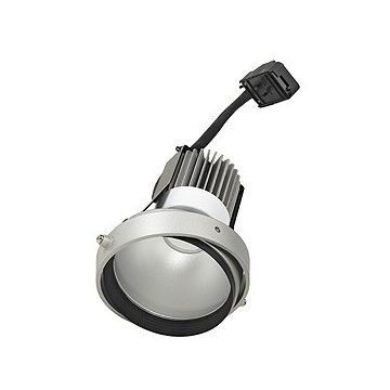 MODULE LED DISK pour cadre d'installation AIXLIGHT PRO, gris argent/noir, 2700K, 50°