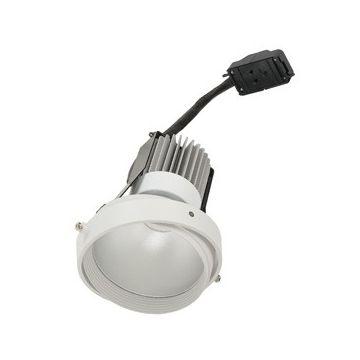 MODULE LED DISK pour cadre d'installation AIXLIGHT PRO, gris argent/noir, 4000K, 50°