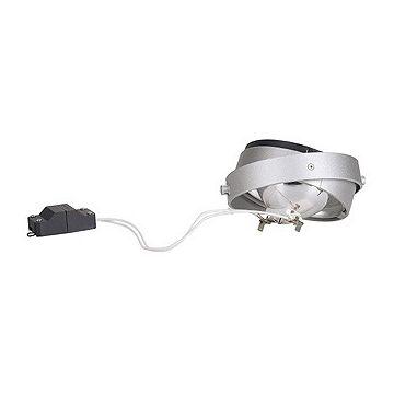 MODULE QRB pour cadre d'installation AIXLIGHT PRO, gris argent/ noir, max. 75W