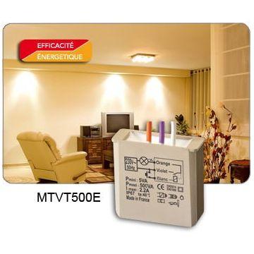 Yokis MTVT500E TELEVARIATEUR TEMPORISE ENCASTRE