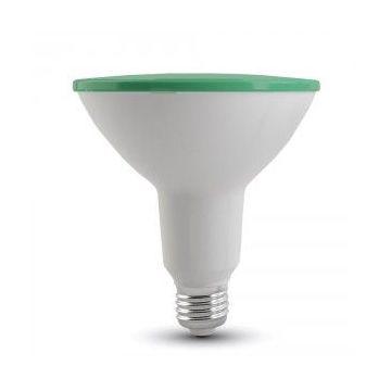 VT-1125LED Bulb - 15W PAR38 E27 IP65 Green -