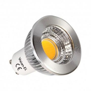 AMP Vision-EL LED 5 WATT GU10 COB 3000° NON DIMMABLE 75° BLI