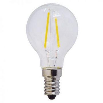 SP1474 LED BULB G45 2W 200LM E14 175-265V WHITE LIGHT FILAMENT
