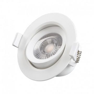 LED 7 WATT COB SPOT PLAFOND 3000°K BOITE TO