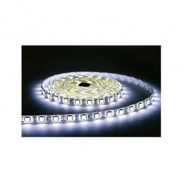BANDE LED BLANC 6000°K 5 M 30 LEDS ET 7,2 W / M IP65 24V EPOXY