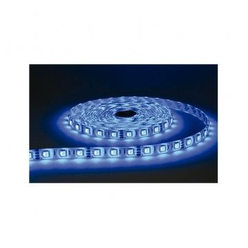 BANDE LED COULEURS 5 M 60 LEDS 14,4 W / M IP65 24V EPOXY