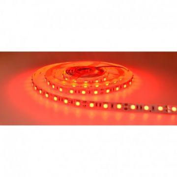 BANDE LED ROUGE 5 M 60 LEDS 14.4 W / M IP20 12V