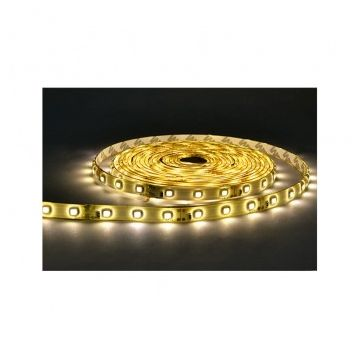 BANDE LED BLANC 3000°K 5 M 60 LEDS 14.4 W / M IP20