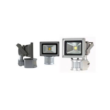 Projecteur Vision-EL avec détecteur IP65 10W 6000K 8030