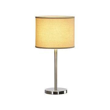 SOPRANA TL-2, lampe à poser, ronde, diffuseur beige, E27, max. 60W