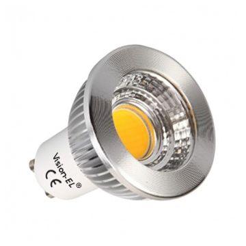 AMP Vision-EL LED 5 WATT GU10 COB 2700° DIMMABLE 75° ALUMIN BOI
