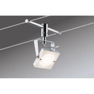 Système câbles Meta 4x5W blanc/chrome