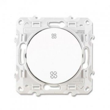 SCHNEIDER Odace Interrupteur VMC blanc