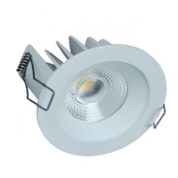 Downlight LED LITED COBI Blanc 10W IP44 4000k + driver ND RT 2012