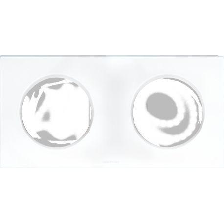 eur-ohm-square-plaque-blanc-2-poste-entr71mm-ref-60297