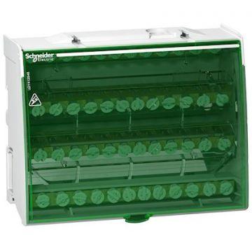 Linergy DS - répartiteur étagé tétrapolaire - 125A 4x12 trous