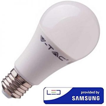 VT-210 9W A58 PLASTIC BULB WITH SAMSUNG CHIP COLORCODE:4000K E27