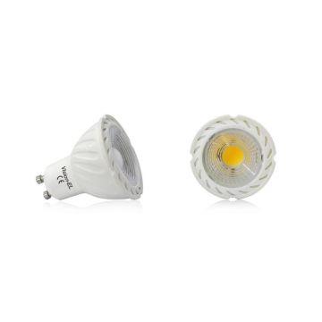 Ampoule LED GU10 5W ROUGE 38° VIISON-EL 78561