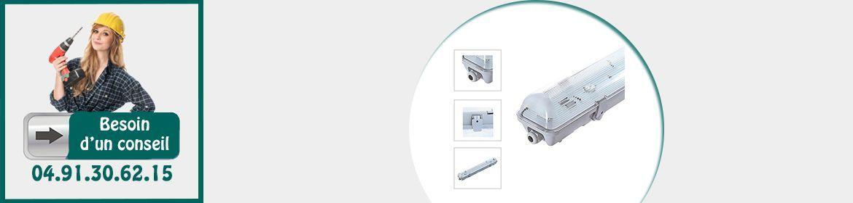 Boitiers LED intégrés