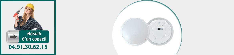 Luminaires avec détecteur
