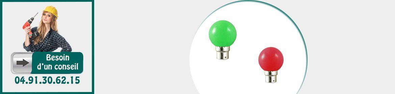 Ampoules & Spots de couleurs