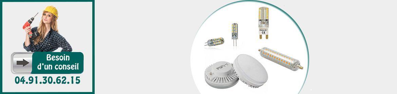 Ampoules G4 / G9 / G24 / R7S